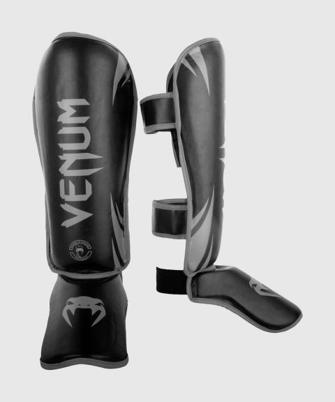 Venum Challenger Standup Shin guards - Black/Grey