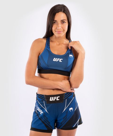 UFC Venum Authentic Fight Night Women's Sport Bra - Blue