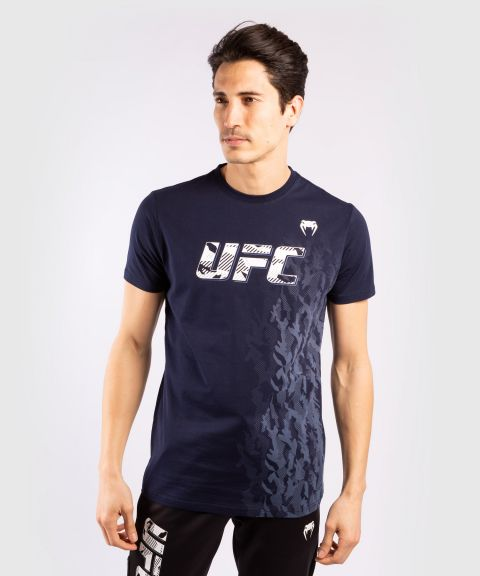 UFC Venum Authentic Fight Week Men's Short Sleeve T-shirt - Navy Blue