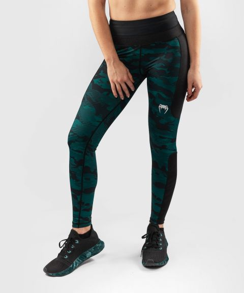 Venum Defender Leggings - for women - Black/Green