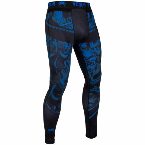 Venum Devil Compresssion Tights - Navy Blue/Black