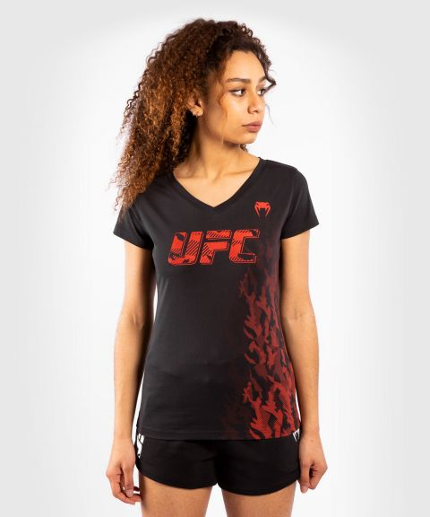 UFC Venum Authentic Fight Week Women's Short Sleeve T-shirt - Black