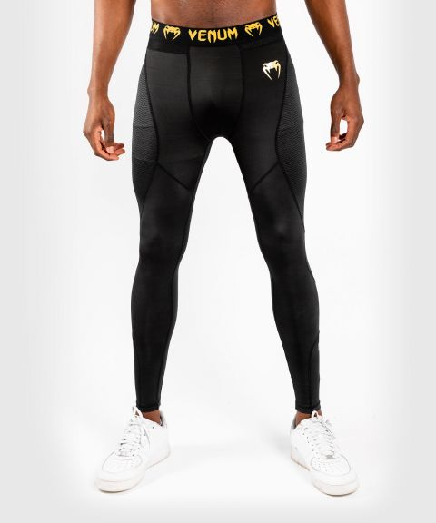 Venum G-Fit Compression Tights - Black/Gold