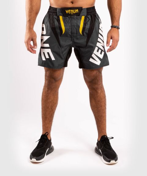 Venum ONE FC Impact Fightshorts - Grey/Yellow
