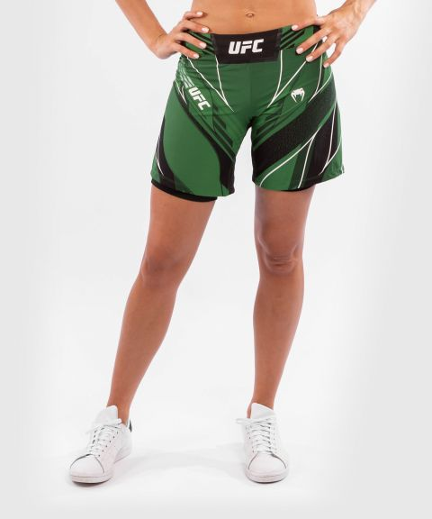 UFC Venum Authentic Fight Night Women's Shorts - Long Fit - Green