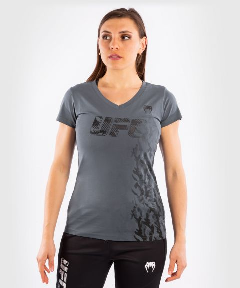 UFC Venum Authentic Fight Week Women's Short Sleeve T-shirt - Grey