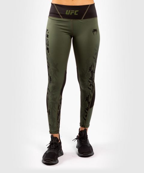 UFC Venum Authentic Fight Week Women's Performance Tight - Khaki