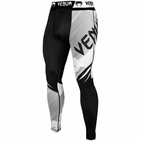 Venum NoGi 2.0 Compresssion Tights - Black/White