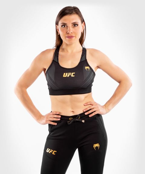 UFC Venum Authentic Fight Night Women's Sport Bra - Champion