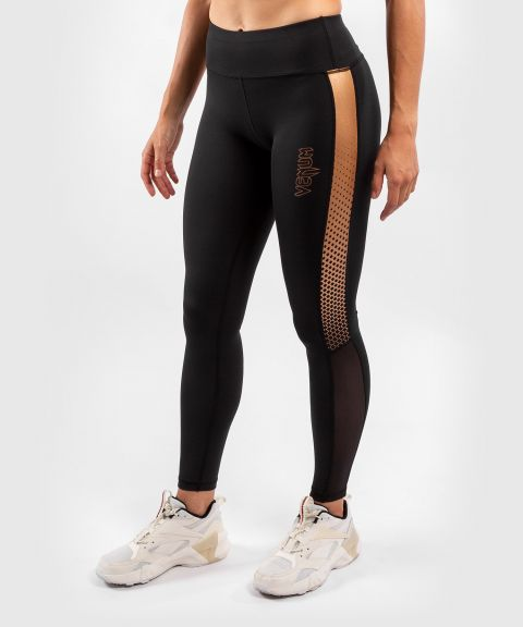 Venum Tecmo Leggings - For Women - Black/Bronze