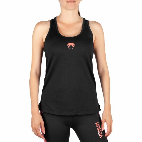 Venum Tecmo Tank Top - For Women - Black/Coral