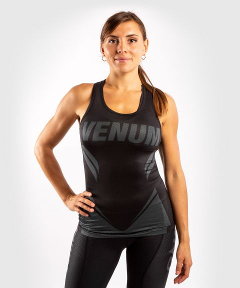 Venum ONE FC Impact Tank top - for women - Black/Black