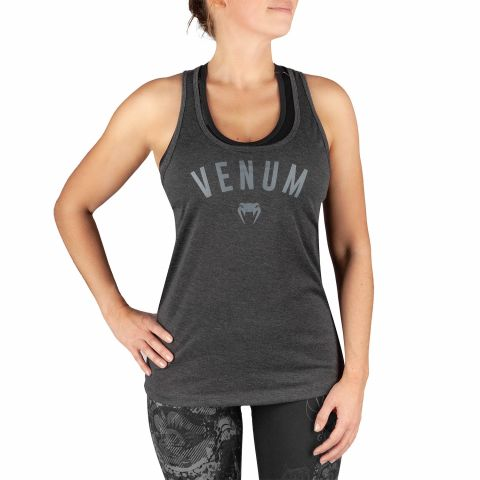 Venum Classic Tank Top - For Women - Dark heather grey