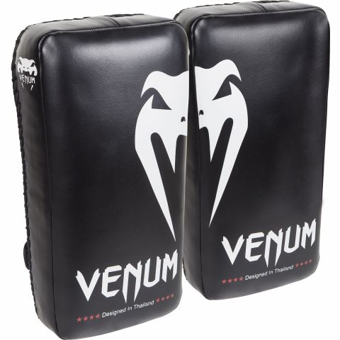 Venum Giant Kick Pads - Black/Ice (Pair)