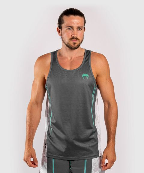 Venum Aero 2.0 Tank Top - Grey/Cyan