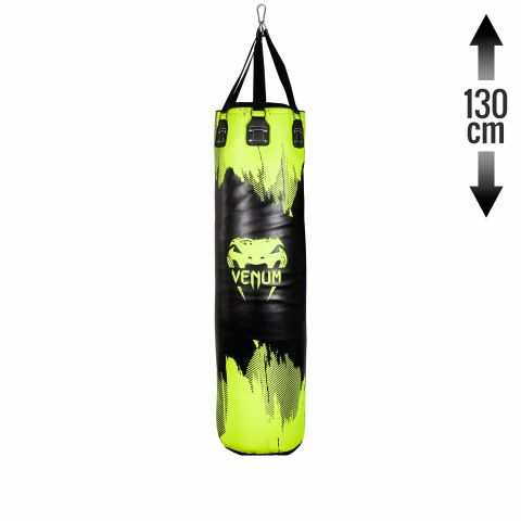 Venum Hurricane Punching Bag - Neo Yellow/Black - 130 cm