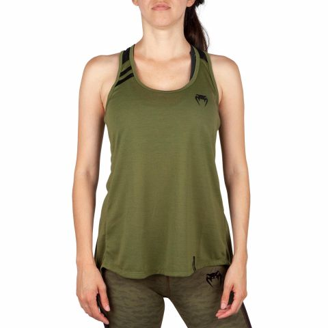 Venum Power 2.0 Tank Top - For Women - Khaki/Black