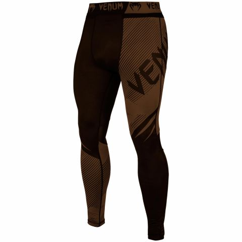 Venum NoGi 2.0 Compression Tights - Black/Brown