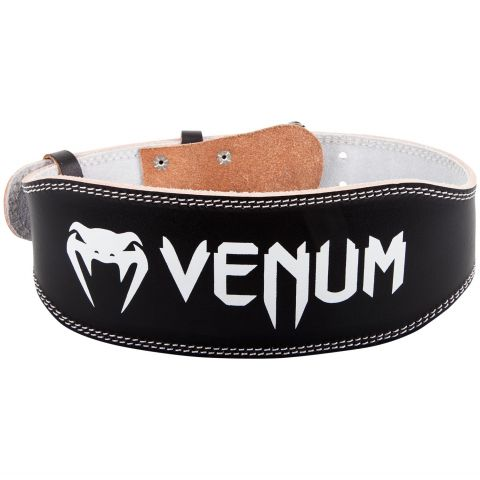 Venum Hyperlift Leather Weightifting Belt - Black