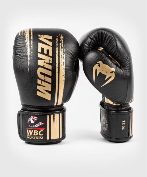 Venum WBC Muay Thai Boxing Gloves - Black/Green