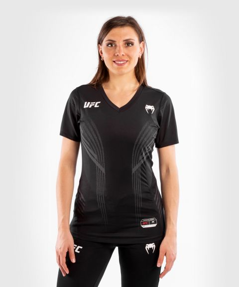 UFC Venum Authentic Fight Night Women's Walkout Jersey - Black