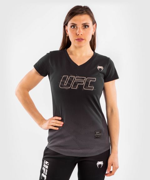 UFC Venum Authentic Fight Week 2 Women's Short Sleeve T-shirt - Black