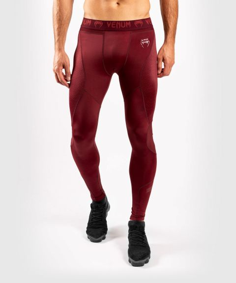 Venum G-Fit Compression Tights - Burgundy