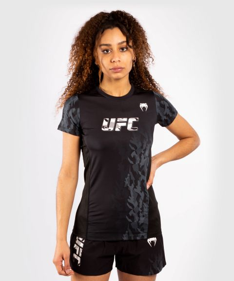 UFC Venum Authentic Fight Week Women's Performance Short Sleeve T-shirt - Black