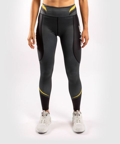 Venum ONE FC Impact Leggings - for women - Grey/Yellow