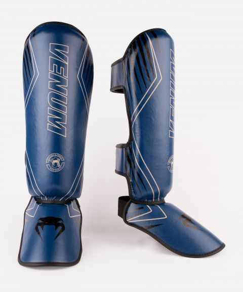 Venum Contender 2.0 Shin Guards - Navy/Sand