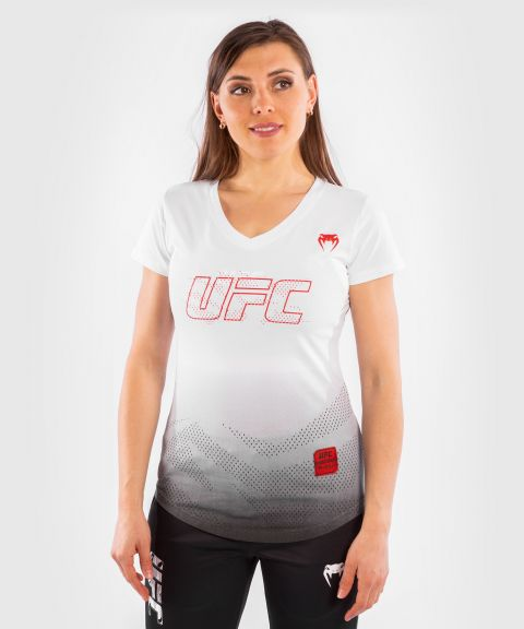 UFC Venum Authentic Fight Week 2 Women's Short Sleeve T-shirt - White