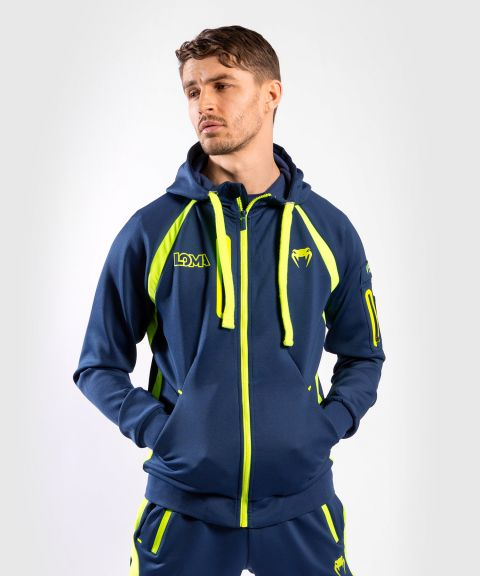 Venum Origins Hoodie Loma Edition Blue/Yellow