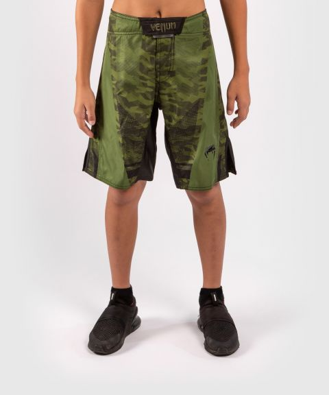 Venum Trooper Kids Fightshorts - Forest camo/Black
