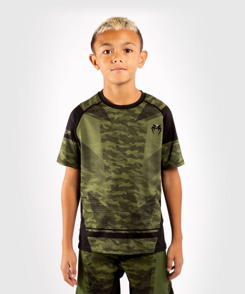 Venum Trooper Kids Dry-Tech T-shirt - Forest camo/Black