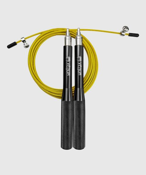 Venum Thunder Evo Jump Rope – Black/Yellow