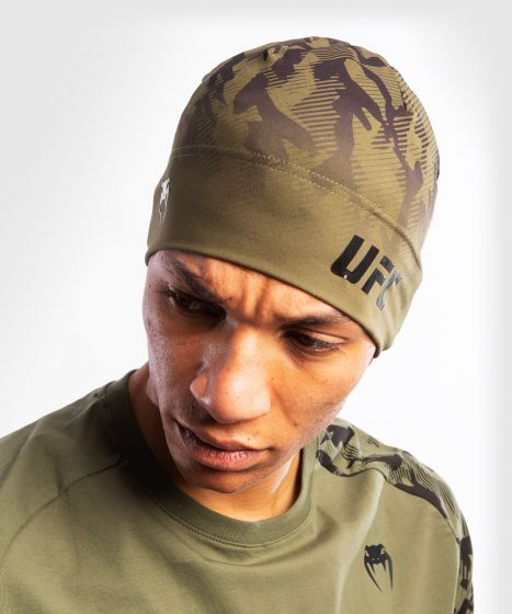 UFC Venum Authentic Fight Week Unisex Performance Beanie - Khaki